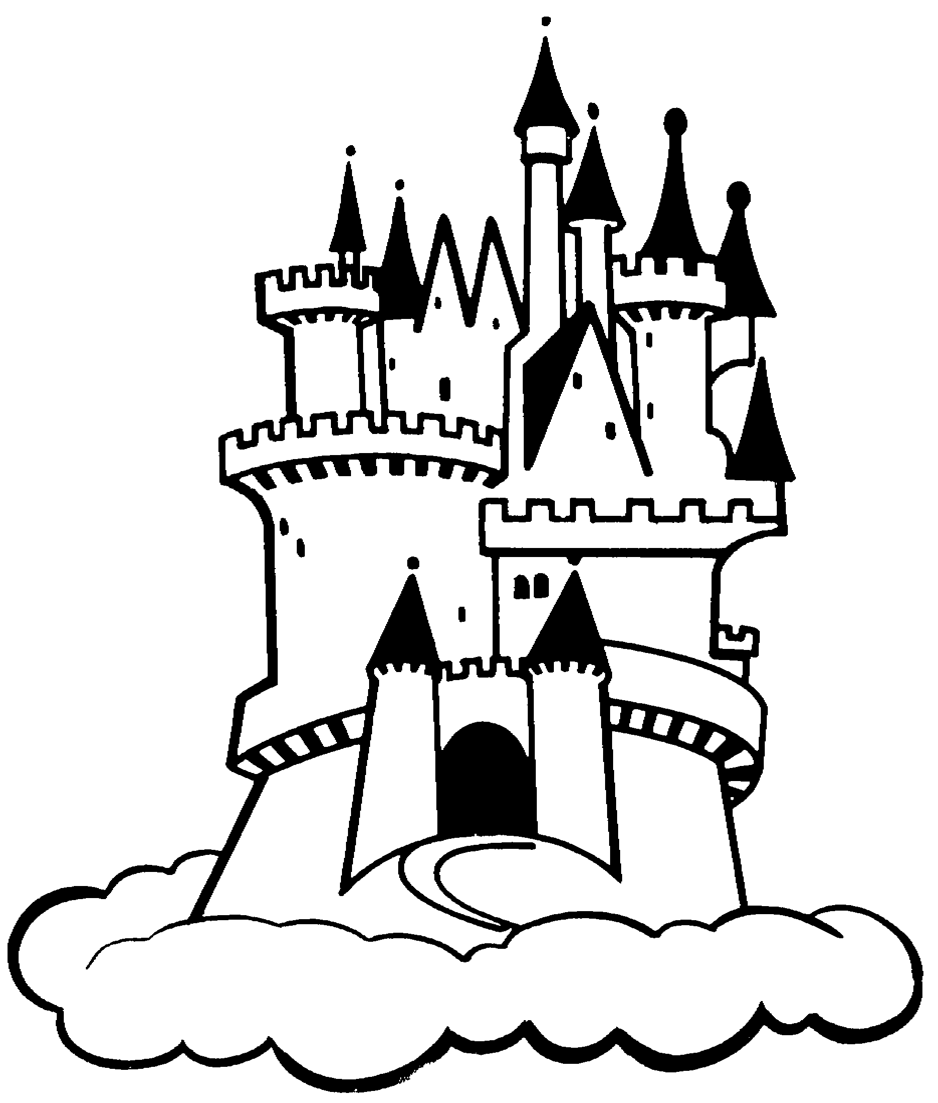 castle clip art black and white search results for black