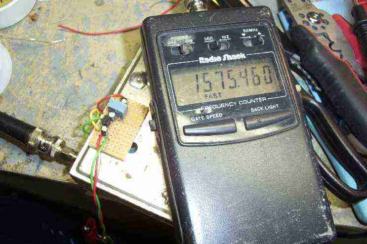 Simple GPS Jammer Using a Satellite Tuner