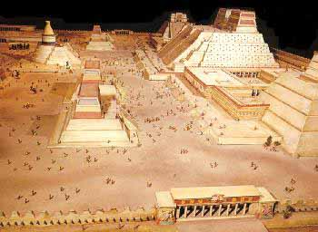 an analysis of the center of the aztec civilization was the valley of mexico